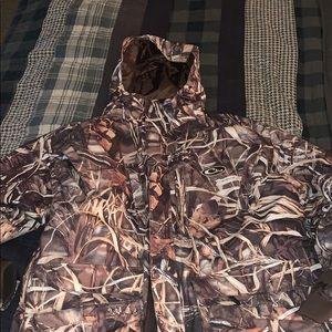 Drake Waterfowl 2 piece hunting jacket